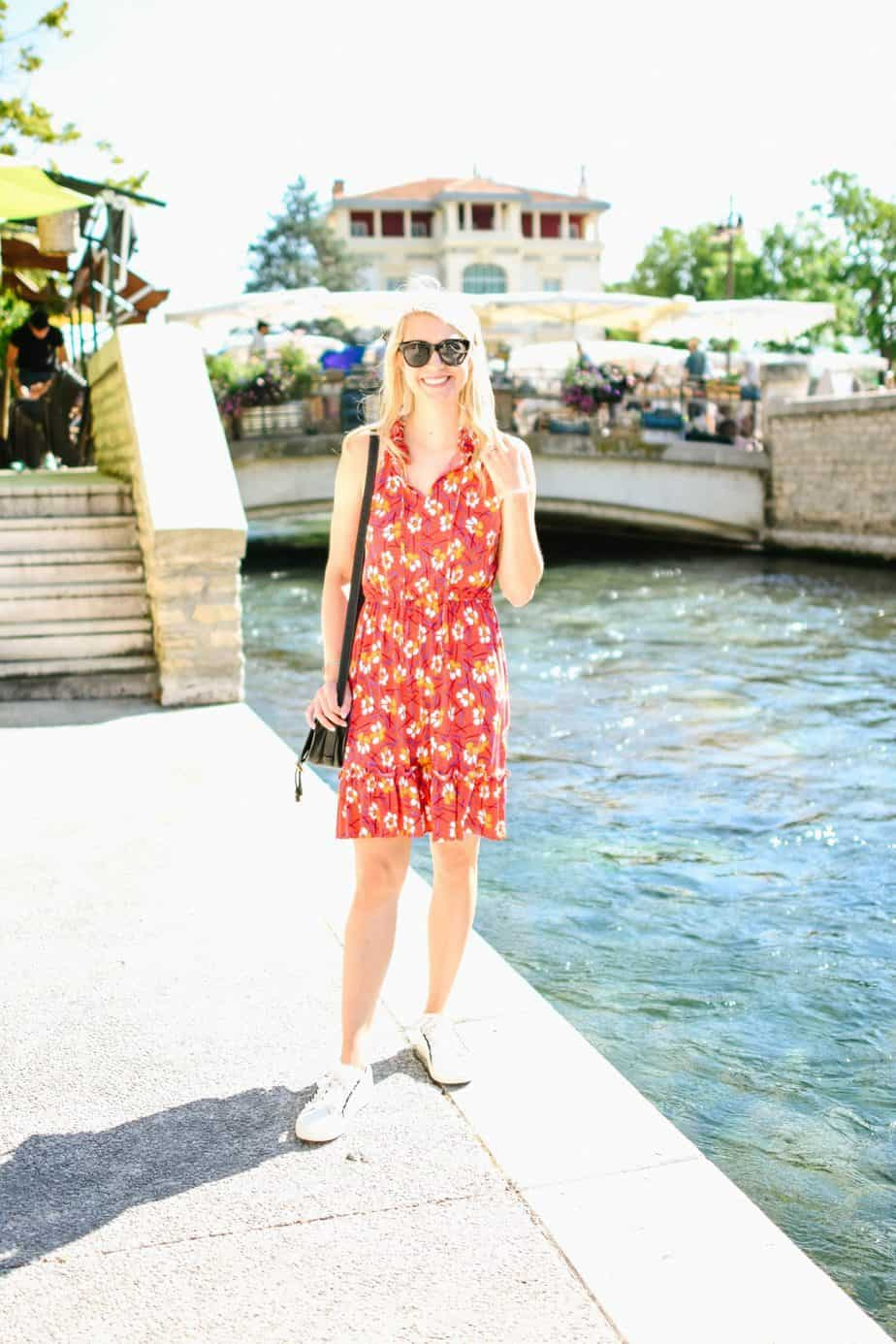 Maggy London Times dress in France