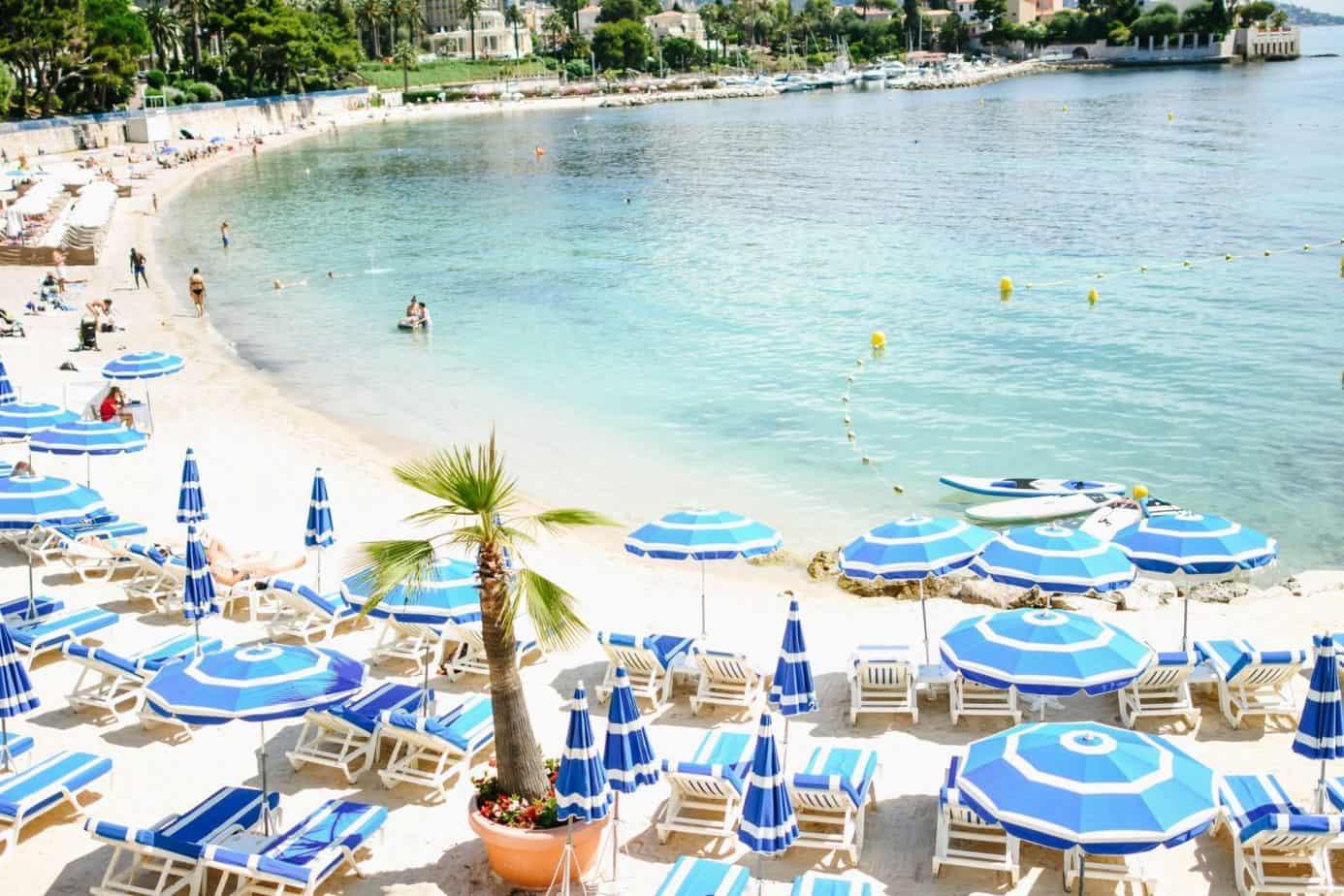Saint Jean Cap Ferrat Hotel Beach