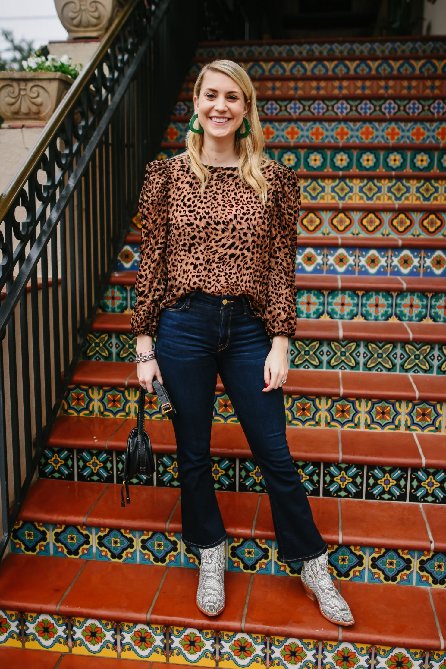 Puff Sleeves + leopard