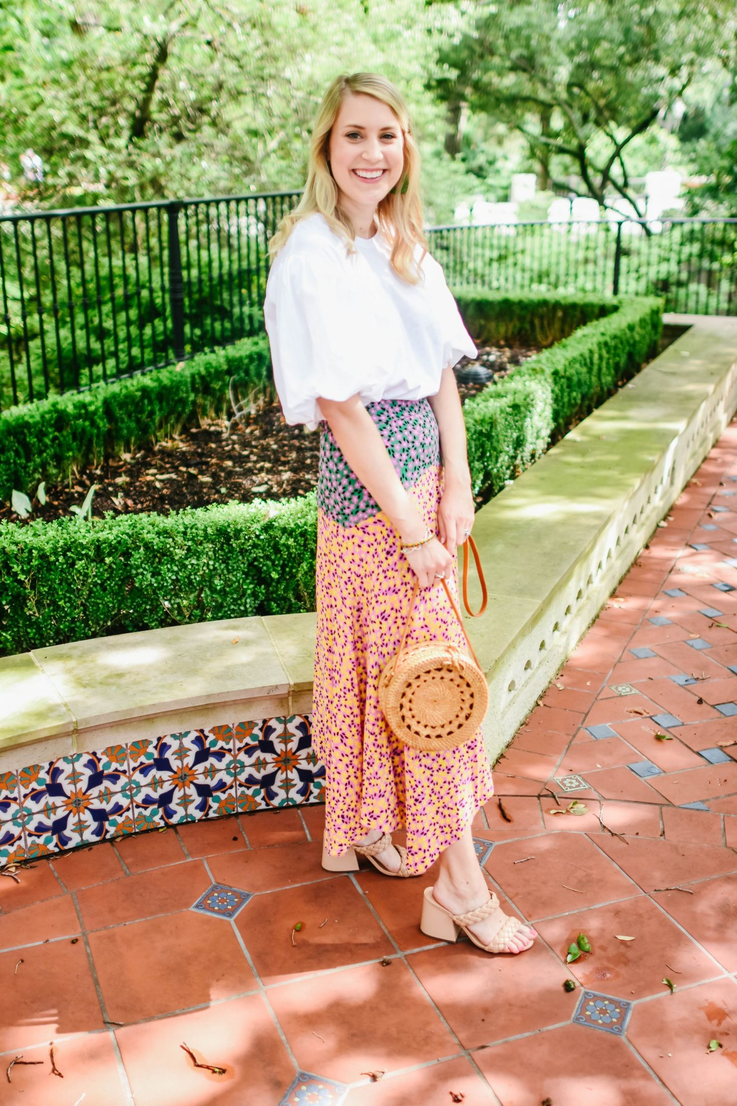 July Florals - Floral Skirt
